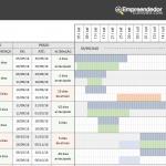 Planilha Ciclo PDCA – check -Verificação – planejamento